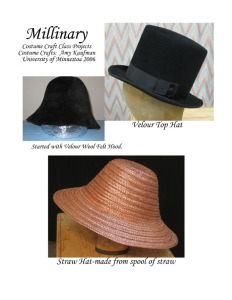 Crafts hats